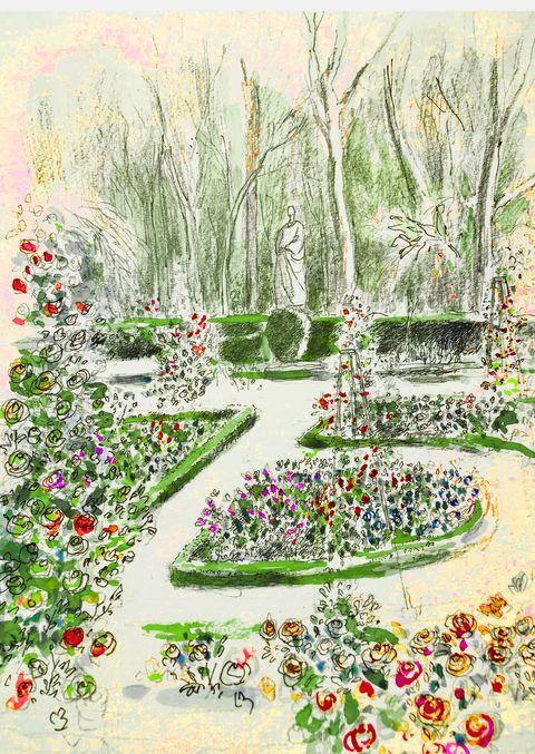la rosaleda real jardin botánico madrid