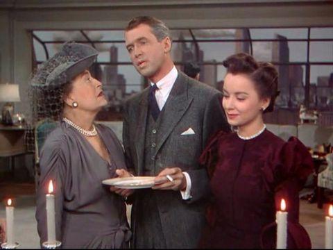 James Stewart hablando de Cary Grant en 'La soga'