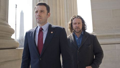 La sombra del poder (2009) Russell Crowe y Ben Affleck