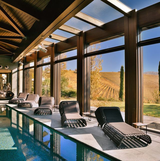 Swimming pool, Building, Property, Interior design, Room, Real estate, House, Architecture, Home, Resort,
