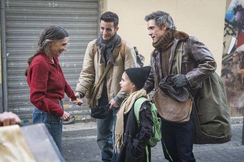 """Ángela Molina y Unax Ugalde en """"La valla"""""""