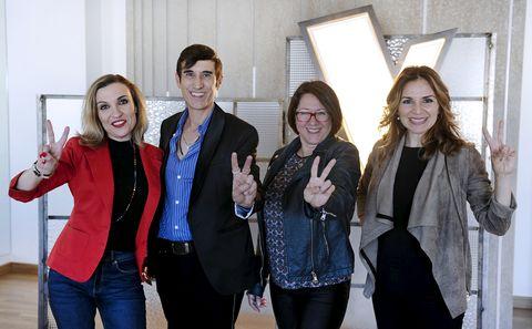 Stella Franti, Lucía Collado, Alicia Araque y José María Sepúlveda son los vocal coach de 'La voz'