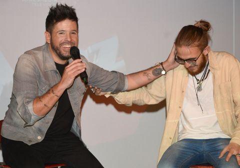 La Voz. Andrés Martín y Pablo López