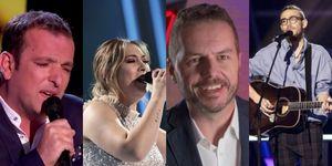 Javi Moya, María, Angel y Andrés, finalistas de La Voz
