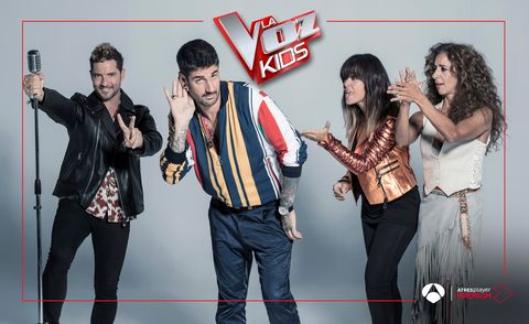 los coaches de la voz kids