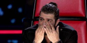Antonio Orozco se arrepiente de una decisión en 'La Voz Senior'