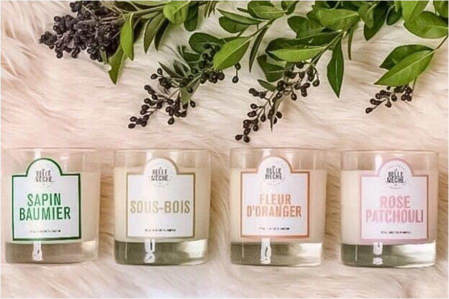 LA BELLE MECHE,蠟燭,文青蠟燭,格拉斯香水,法式風格