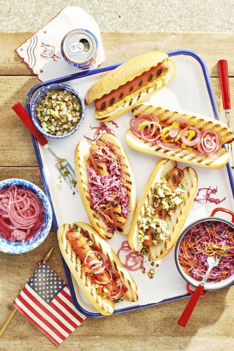 grilled hotdogs labor day recipes
