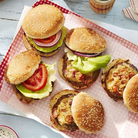 worcestershire glazed burgers recipe for labor day