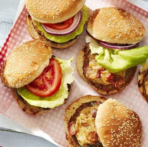 best labor day recipes worcestershire glazed burgers