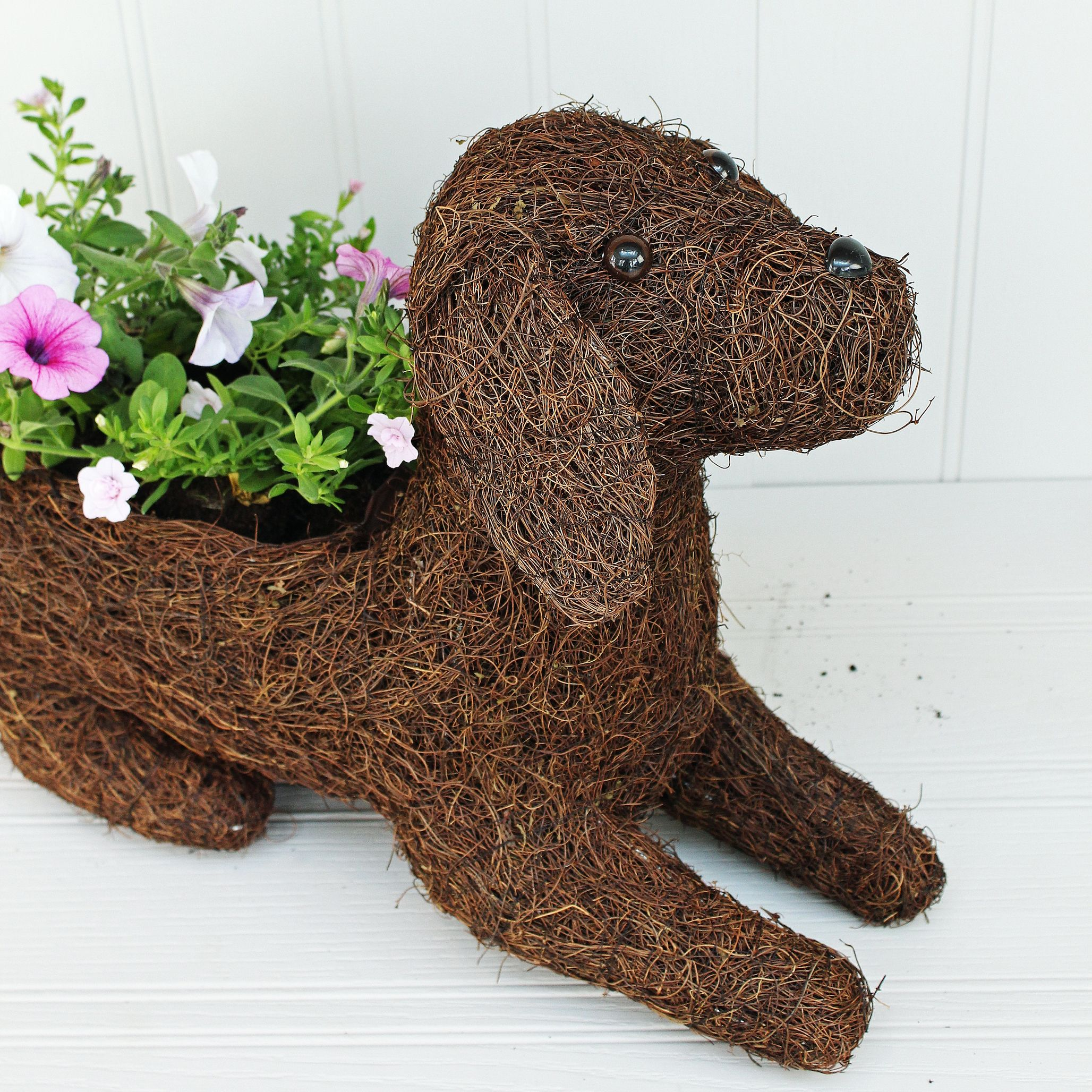 Labrador Puppy Planter