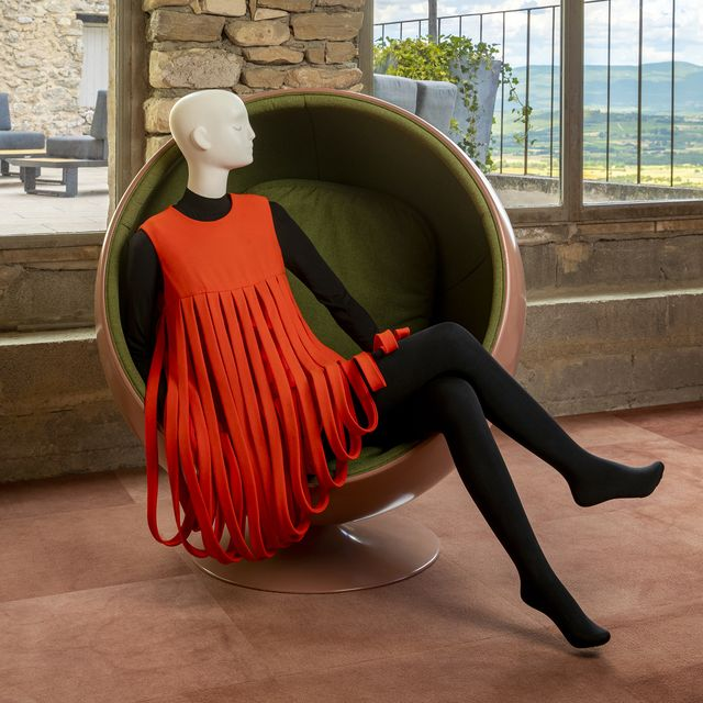 """scad lacoste – summer 2021 – exhibitions – """"notre ami, pierre cardin"""" – documentation – photography courtesy of scad"""