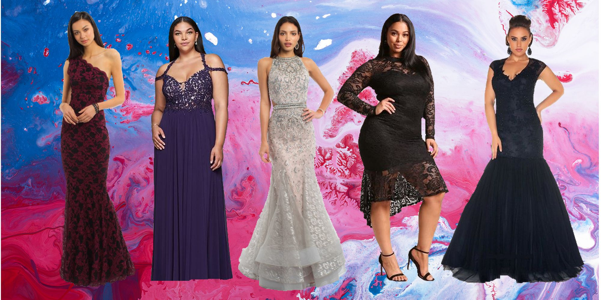 Harlem Night Theme for Prom Dresses