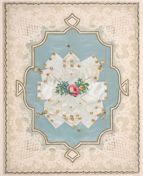 lace paper valentine