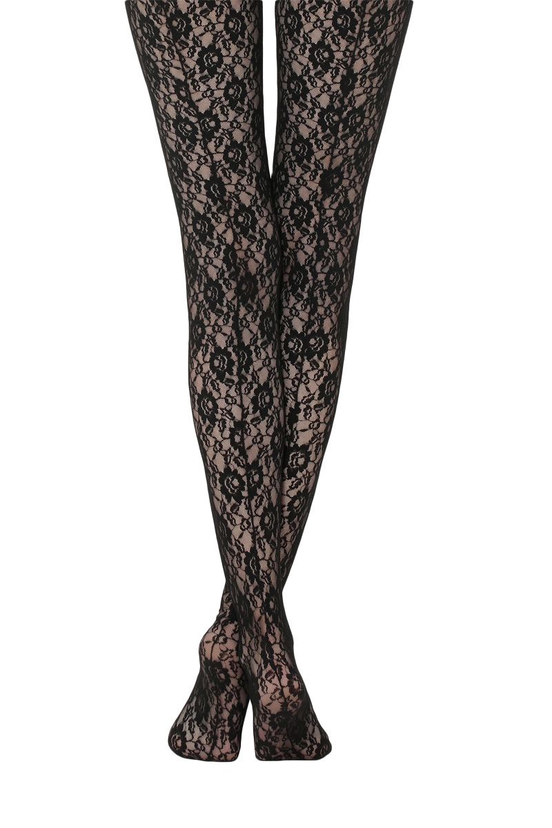 b87b9619388ec Tights & Stockings For Winter Dressing - Patterned, Monogrammed & Coloured