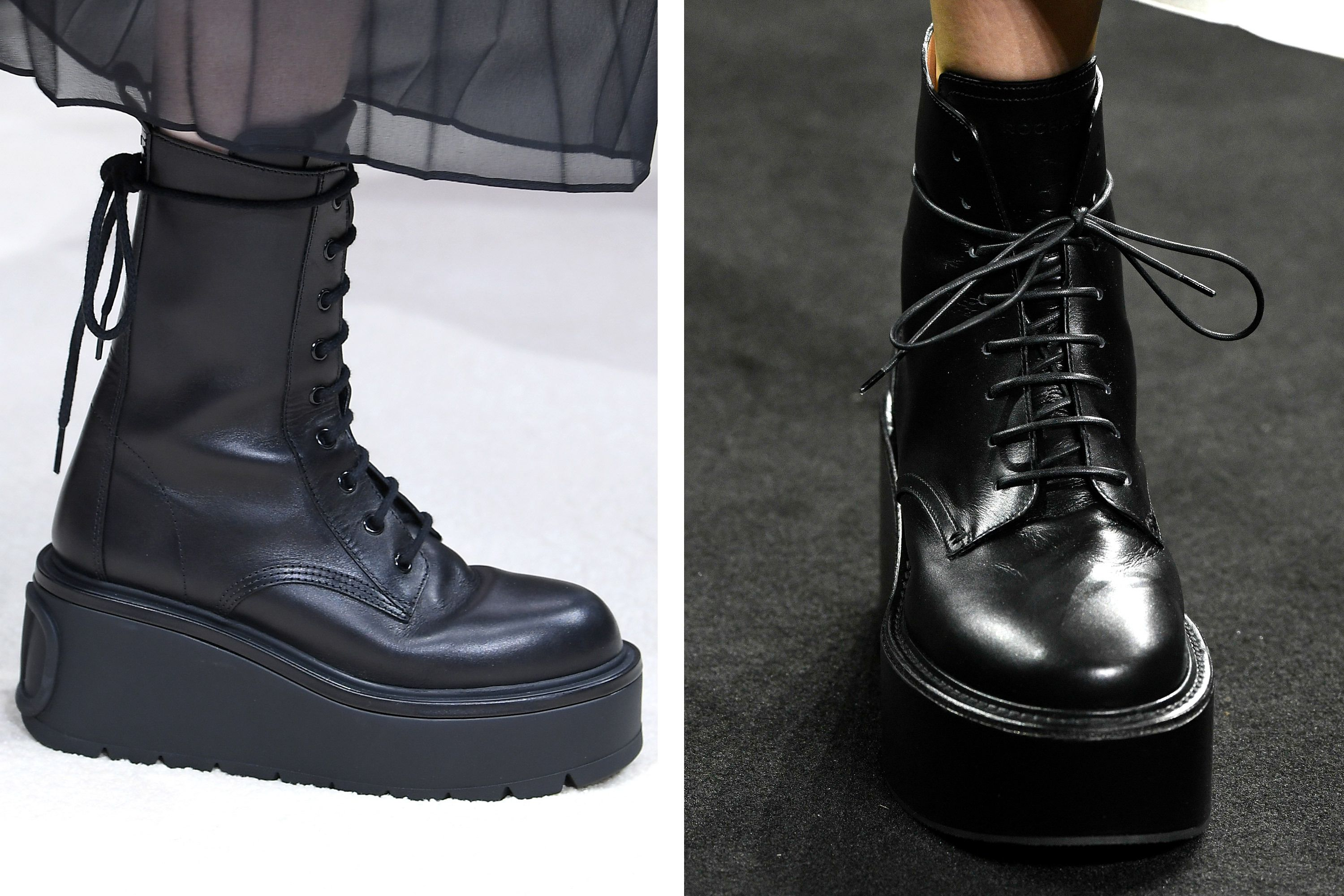 lace up boots fashion