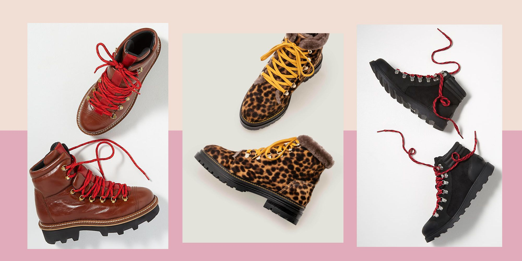 The lace-up hiking boot trend and where to shop it