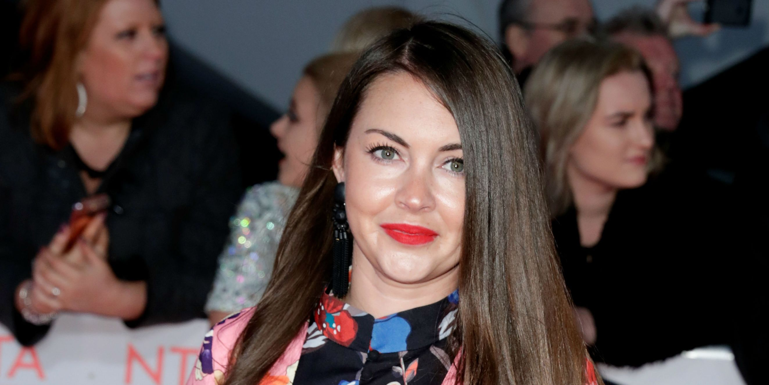 Lacey Turner at the National TV Awards in January 2018