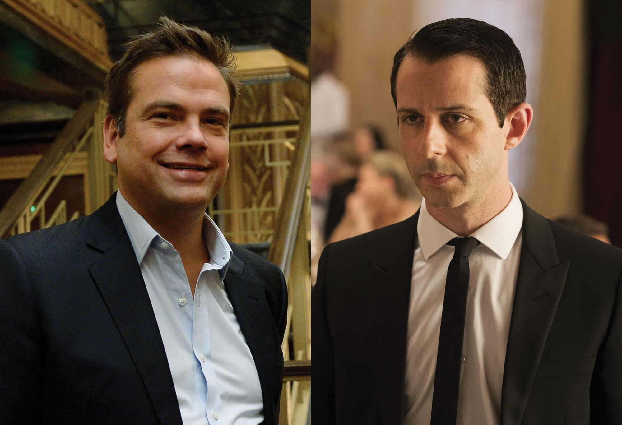 Lachlan Murdoch and Kendall Roy (played by Jeremy Strong).