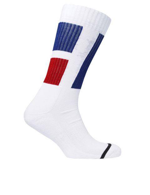 White, Sock, Footwear, Fashion accessory, Shoe,