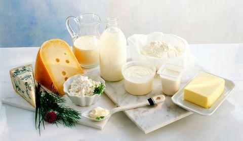 Bodegón de lácteos