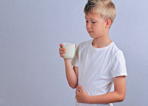lactose intolerance dairy intolerant child with stomach pain