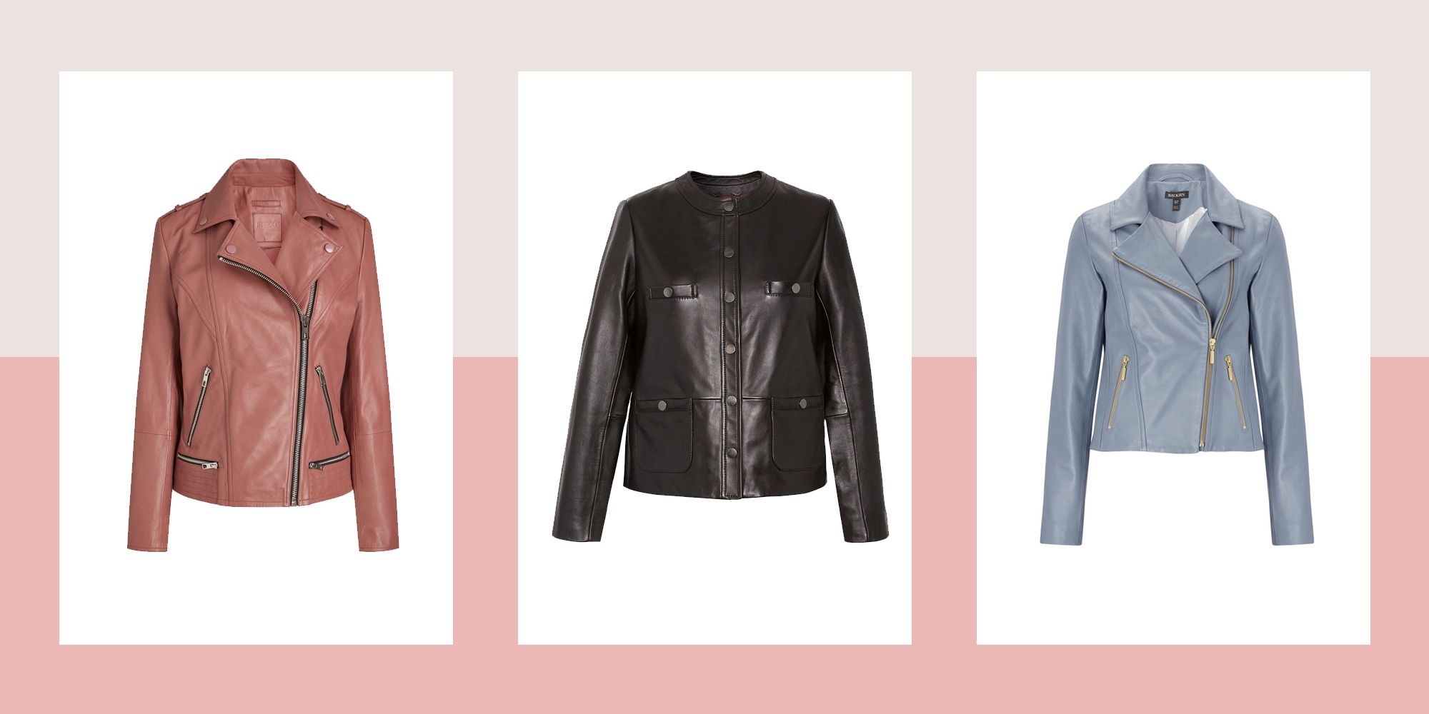 12 of the best ladies leather jackets to buy now