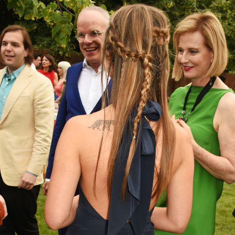 the serpentine summer party co hosted by tommy hilfiger   inside