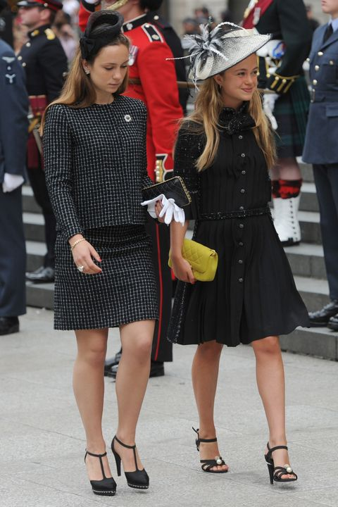 Lady Amelia Windsor And Marina