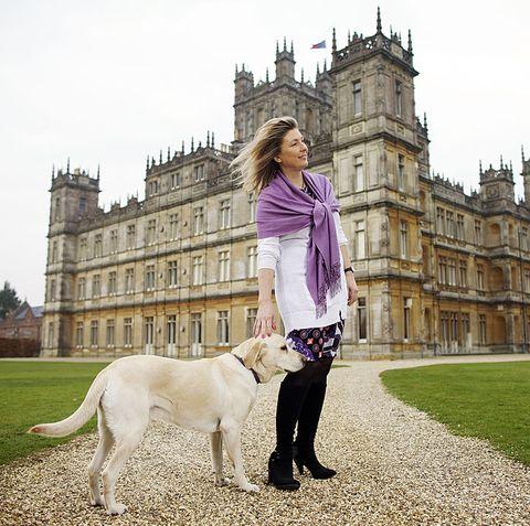 lady carnarvon real life Downton Abbey
