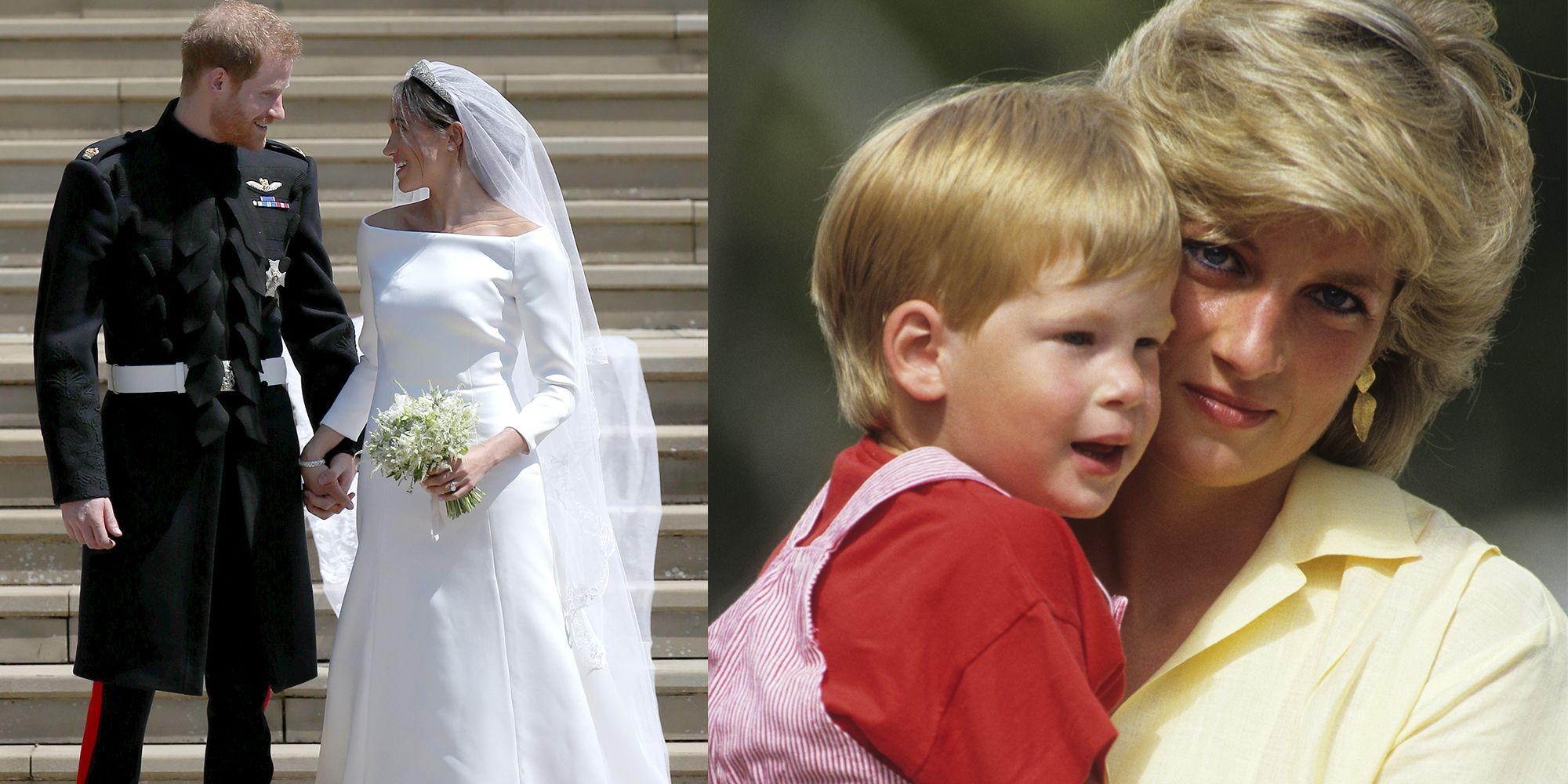 689ad36e28b6 Lady Diana al matrimonio di Harry c era in 6 gesti degli sposi