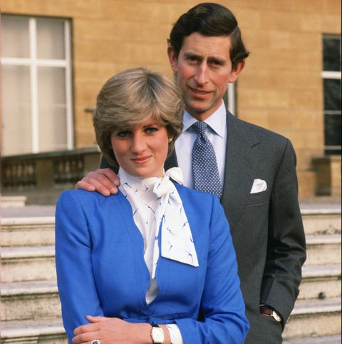 Lady Diana Spencer (later to become Princess of Wales) revea