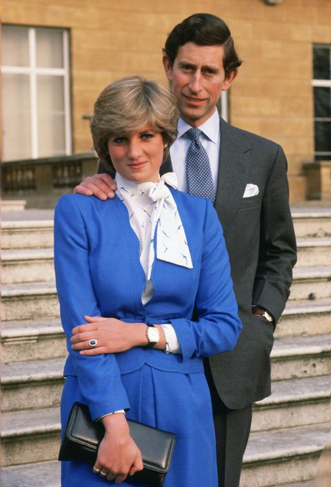 lady diana spencer later to become princess of wales revea