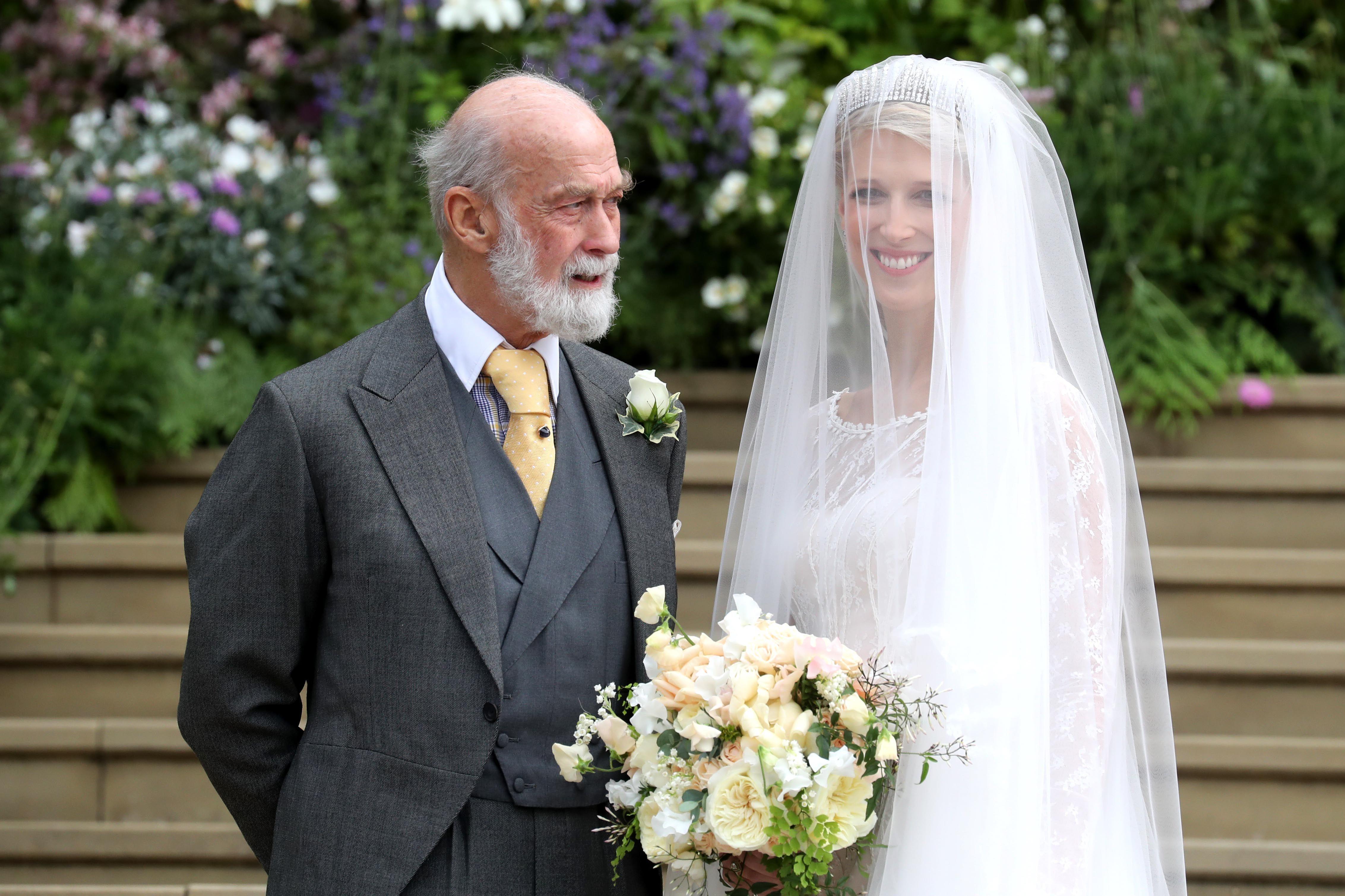 Lady Gabriella Windsor's wedding dress designer on creating a gown for a modern royal bride