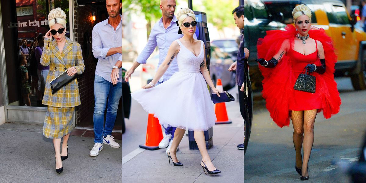 Lady Gaga Just Wore Three Insanely Different Looks in One Day in NYC