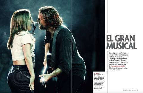 Lady Gaga y Bradley Cooper en 'Ha nacido una estrella'