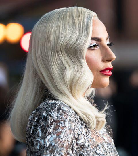 Hair, Blond, Face, Lip, Hairstyle, Beauty, Eyebrow, Chin, Hair coloring, Long hair,
