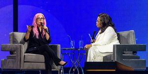 Lady Gaga bij Oprah
