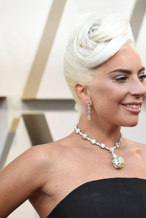 aae238464ba Lady Gaga Wore an Alexander McQueen Black Dress to Oscars 2019 Red ...