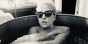 Lady Gaga bathtub nude