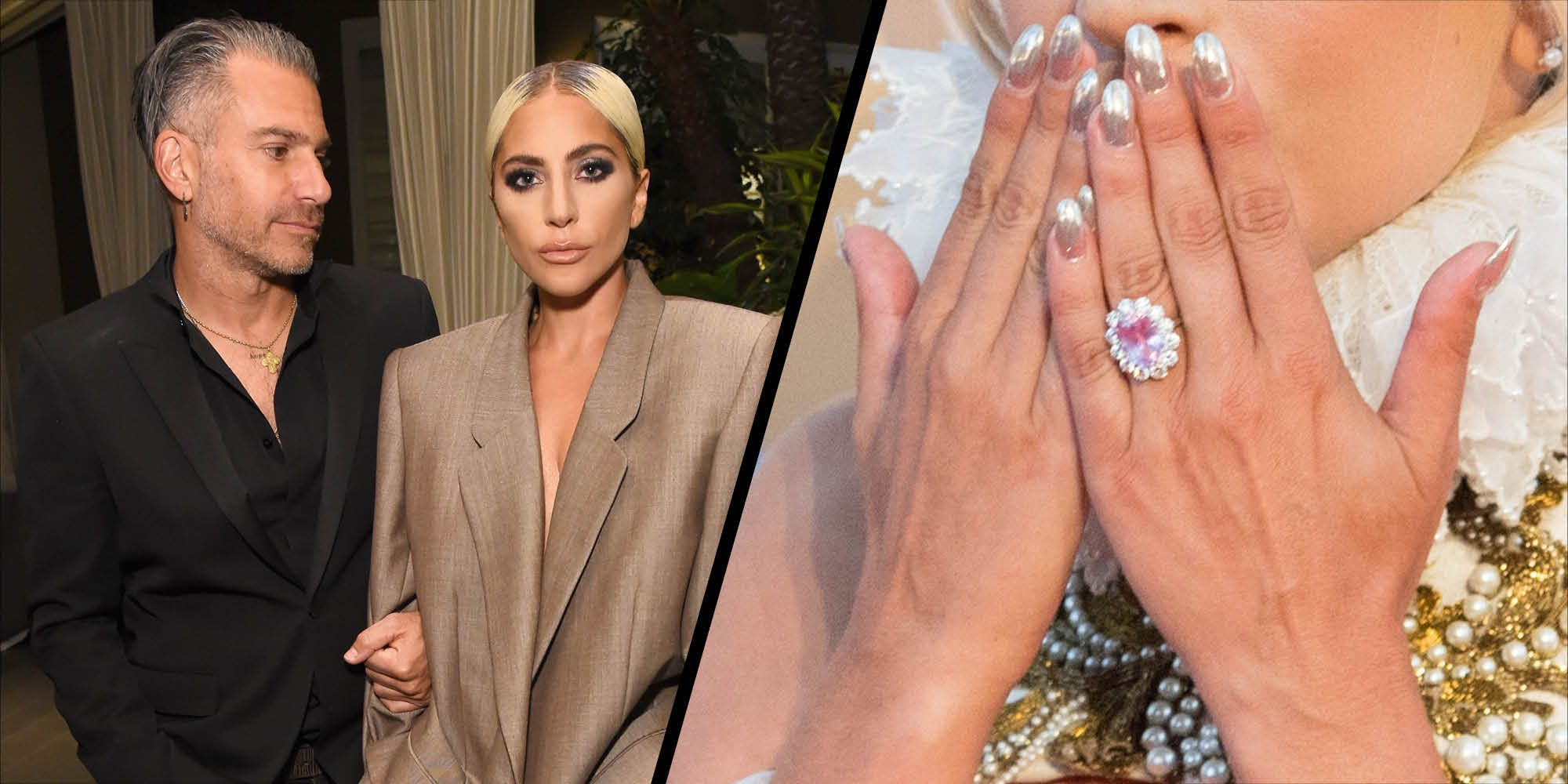 Lady Gaga engagement ring
