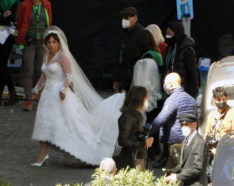 observations de célébrités à rome le 8 avril 2021