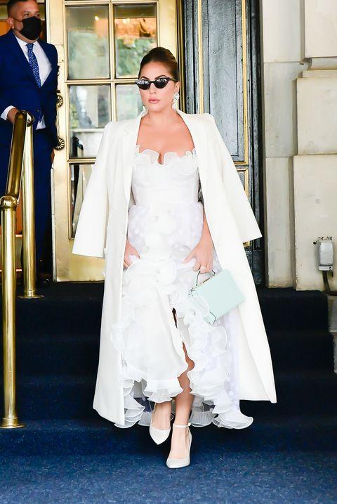 lady gaga in new york city on july 1, 2021