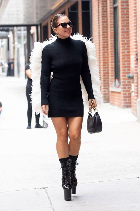lady gaga in new york city on july 27, 2021