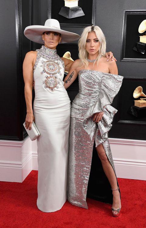 Jennifer Lopez en Lady Gaga