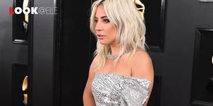 Lady Gaga look Grammys 2019