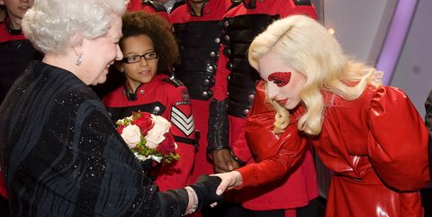 The Most Awkward Moments of Queen Elizabeth Meeting Celebrities Ever