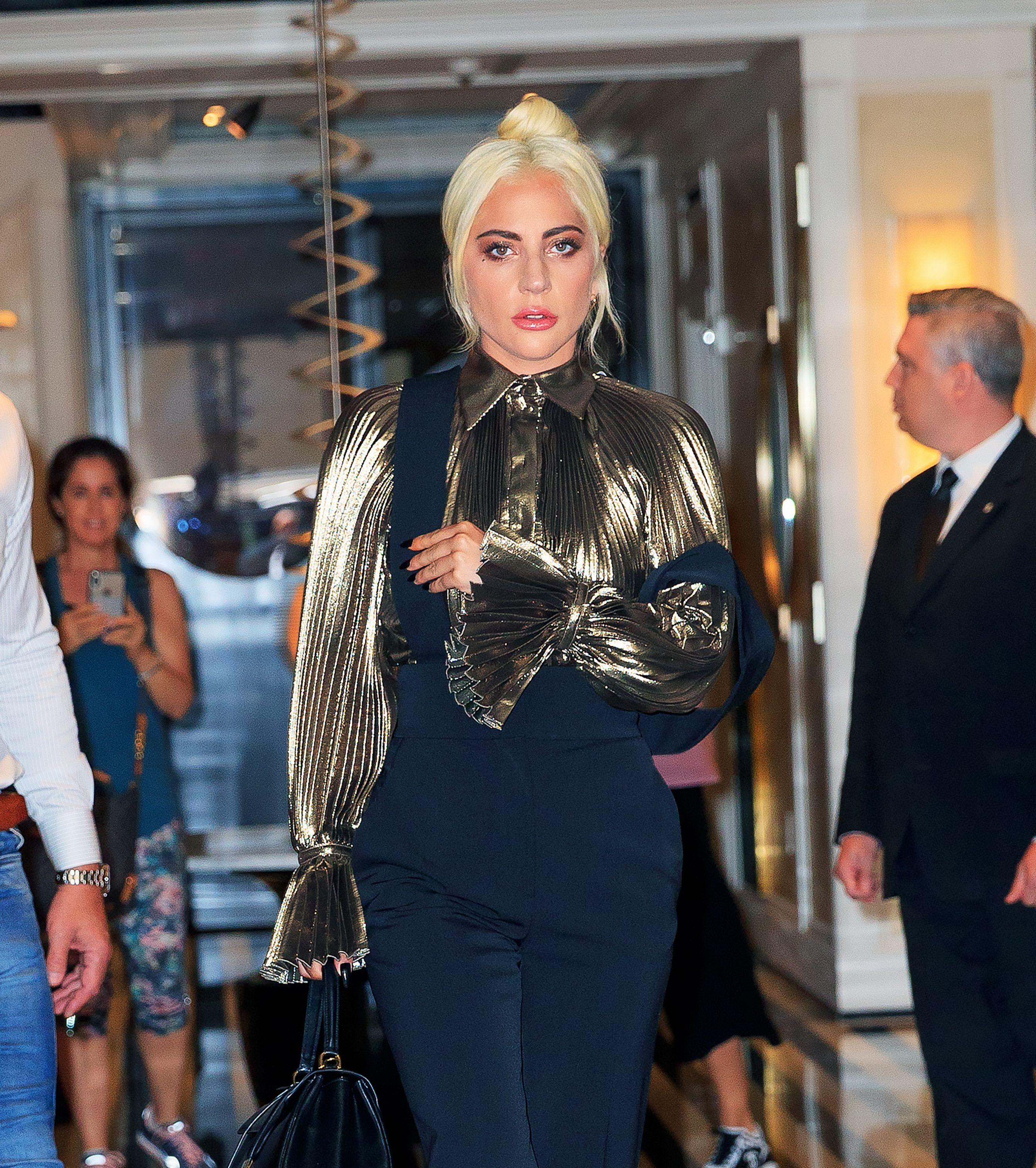 Lady Gaga Celebrates Multi-Platinum Status With New Pink Hair