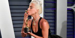 Lady Gaga makes history with Oscar win