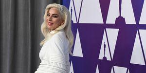 Lady Gaga - Oscar nominees luncheon